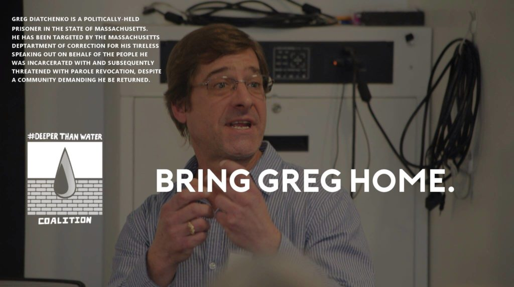 vigil for Greg